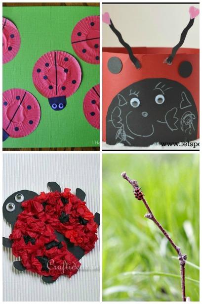 ladybug craft ideas housing