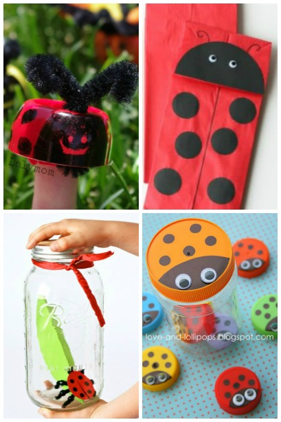 If you are hunting for some great ladybug crafts for preschoolers or toddlers, we have some interesting and easy ideas that your kids can try! Ladybug Craft Ideas Housing A Forest