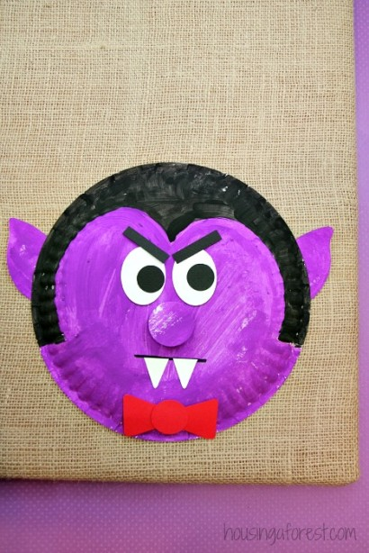Paper Plate Dracula  Housing a Forest