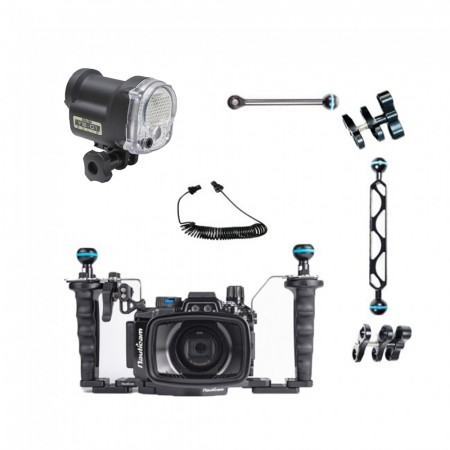 RX100 VI Underwater Housing by Mozaik with Sea & Sea YS-01
