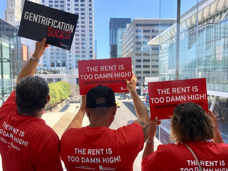 Rental Affordability Act signatures