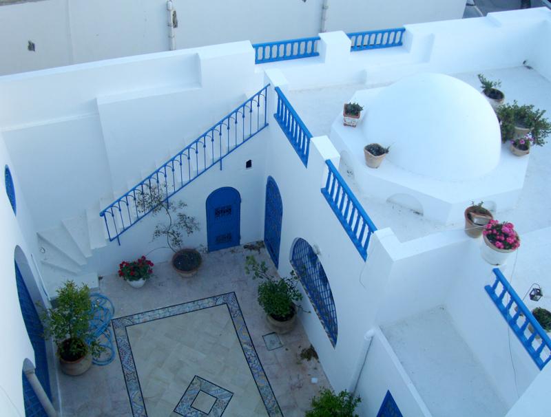 Une villa de charme au village de Sidi Bou Said avec vue sur mer  Housing Immo Tunisie  Agence