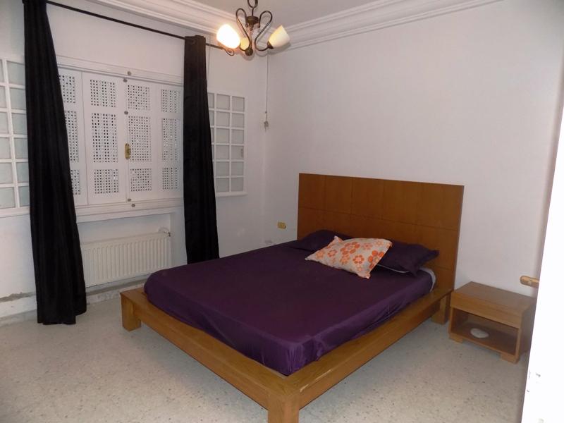 A louer rez de chausse meuble avec jardin  Housing Immo Tunisie  Agence immobilire La Marsa