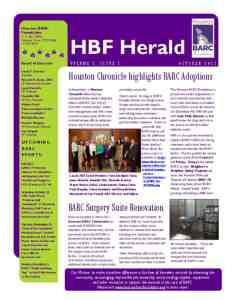 thumbnail of BARC Newsletter OCT 2011