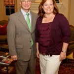 Leslie DeVillier, BARC Foundation Director Membership Administrator with husband, Bobby DeVillier