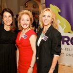 Belinda Smith, Harris County Prosecutor with Linda F. Barrett and Michelle Mantor, BARC Foundation Directors