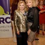 Sidney Faust, Houston BARC Foundation Director with Susan Boggio