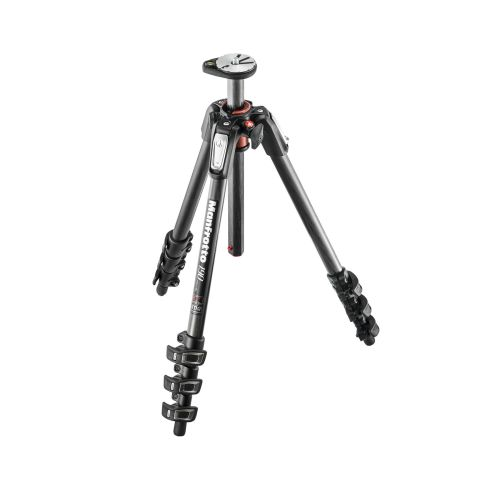 Manfrotto 190 Series Carbon Fiber Tripod with Horizontal