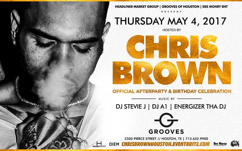 Breaking News!!! CHRIS BROWN Official After Party & Birthday Celebration – THURS, MAY 4th