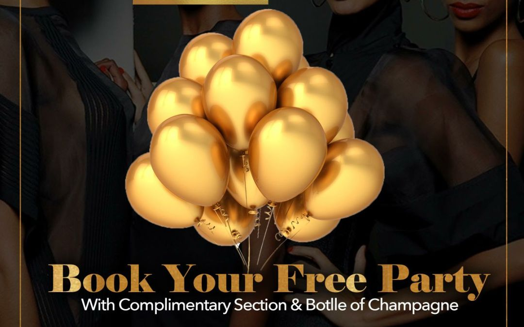 BOOK YOUR FREE PARTY!