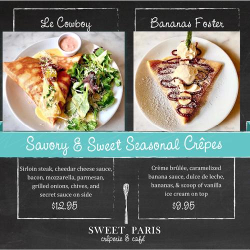Sweet Paris Special – August 31st Only!