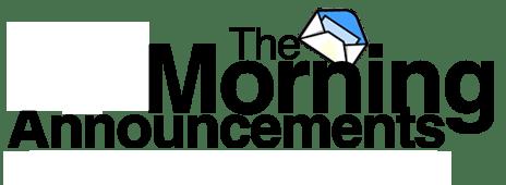 Teacher Resources / Morning Announcements