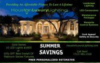 Outdoor Lighting Houston | Landscape Lighting Houston