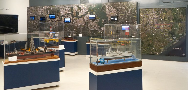 Ship Channel Exhibit