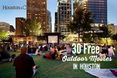 30 Free Outdoor Movies in Houston