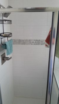 Light Bathroom Remodel - Houston Remodeling Contractors