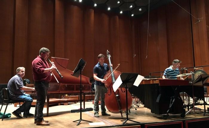 Dutilleux rehearsal