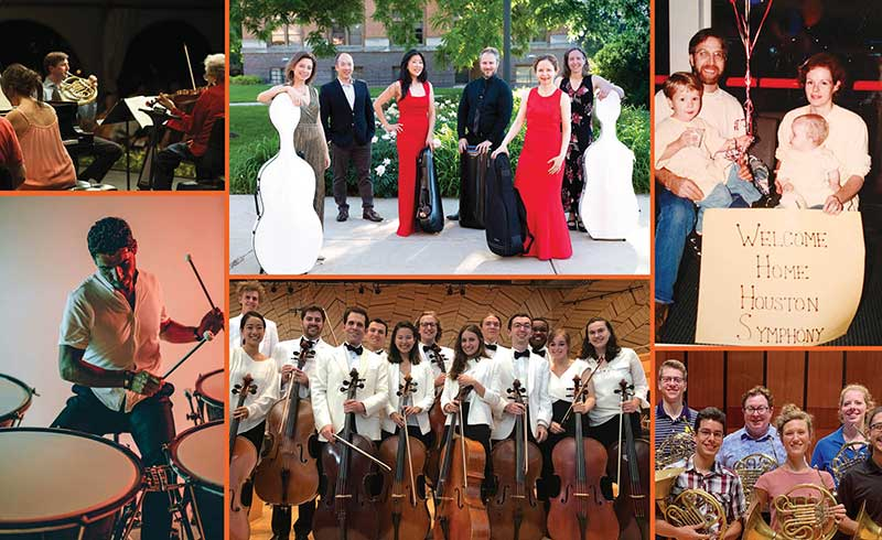 Houston Symphony musicians share photos of their 2019 summer activities.