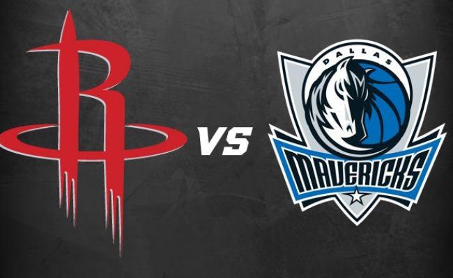 Houston Rockets Vs Dallas Mavericks Houston Toyota Center