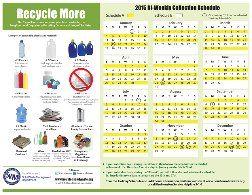 Recycling Houston EGov Website