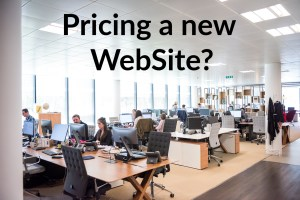 Pricing a website
