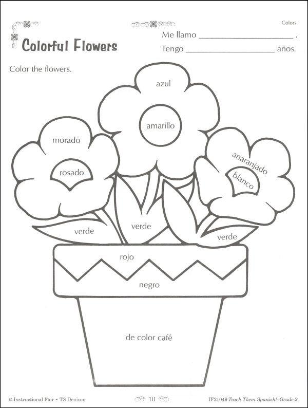 Teach Them Spanish! Grade 2 (025352) Details