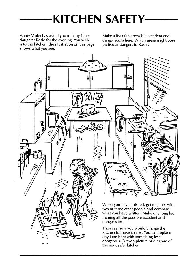 Hazards In The Home Worksheets