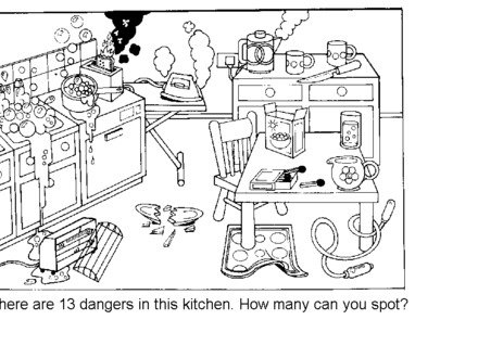 Cooking Safety Worksheets
