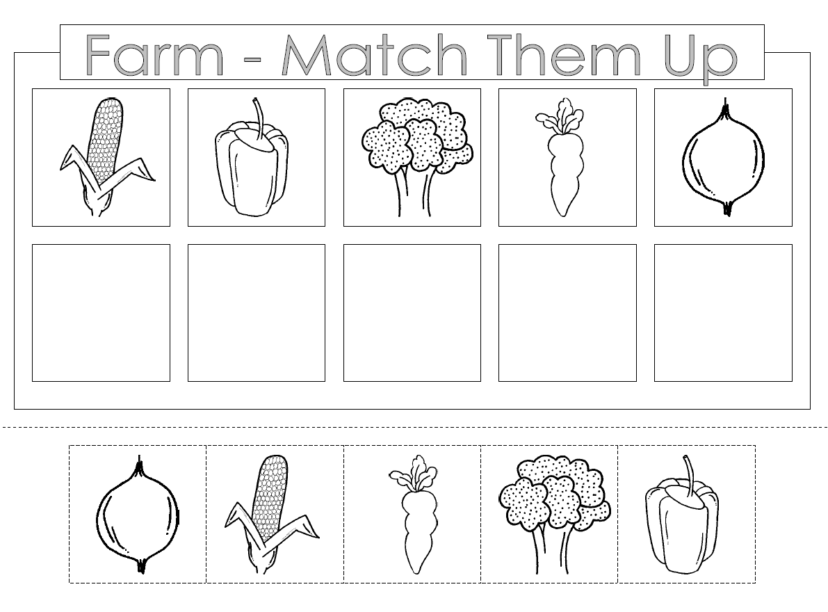 Preschool Cutting And Pasting Worksheets