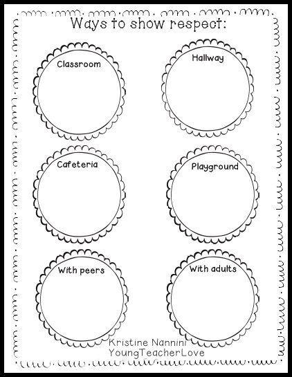 Respect Worksheet For Kids The Best Worksheets Image