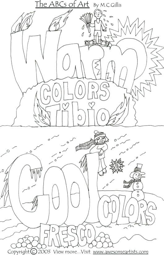 Art Worksheets For Elementary