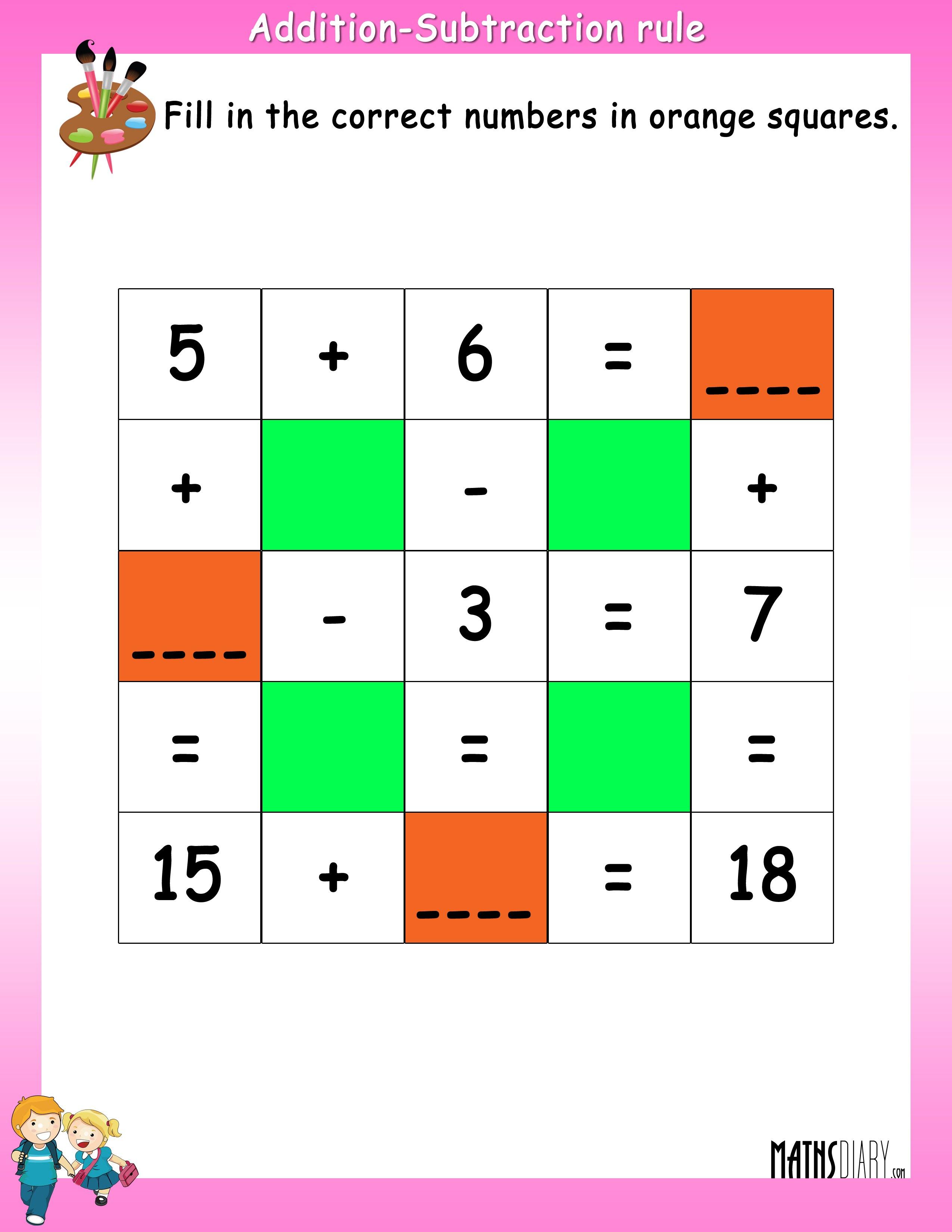 Maths Addition Worksheets For Ukg Free