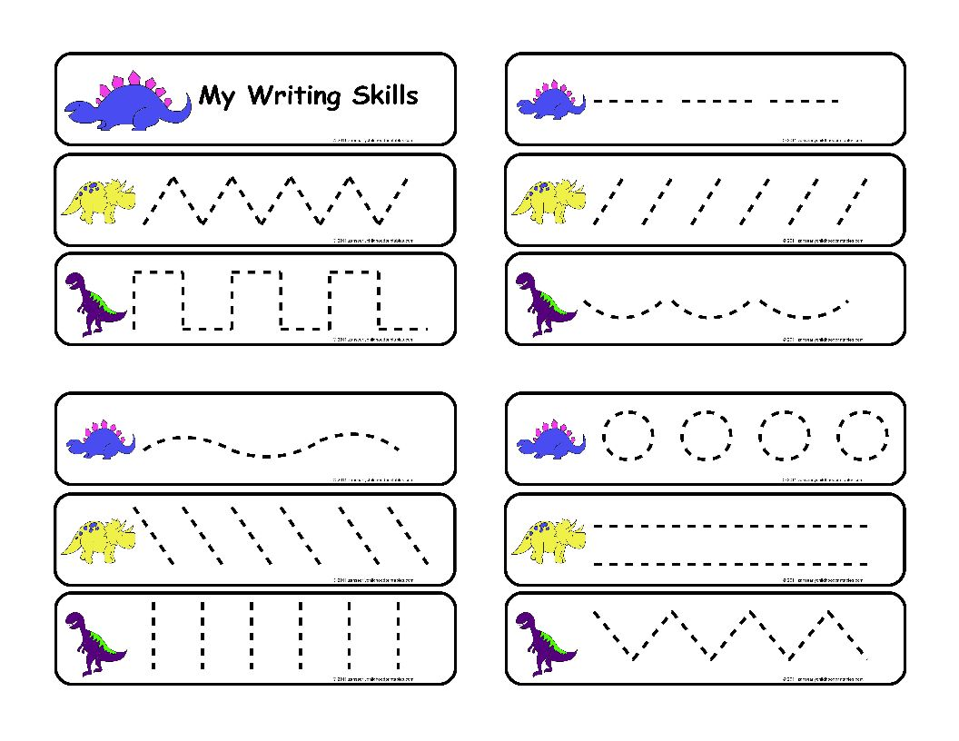 Printable Handwriting Worksheets For Pre K Free