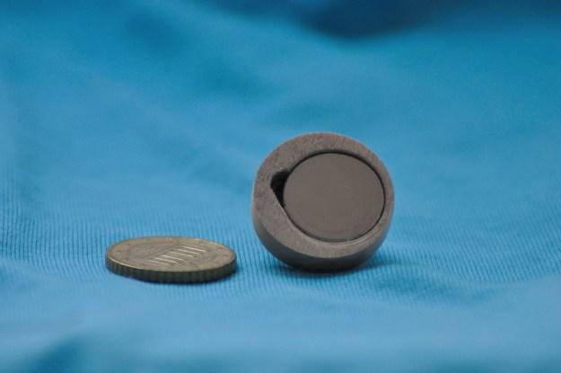 Het Yin Yang teken met de magneet erin