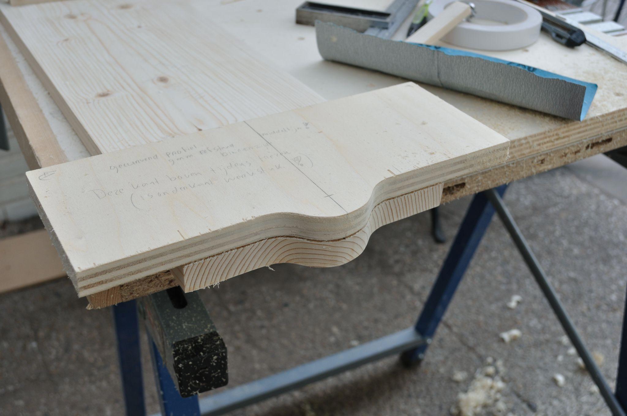 Schoenenkast – de zijpanelen met middenpaneel (deel 5 ...