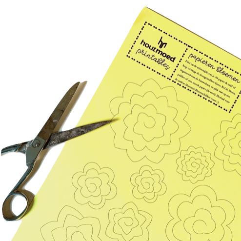 printable papieren bloemen