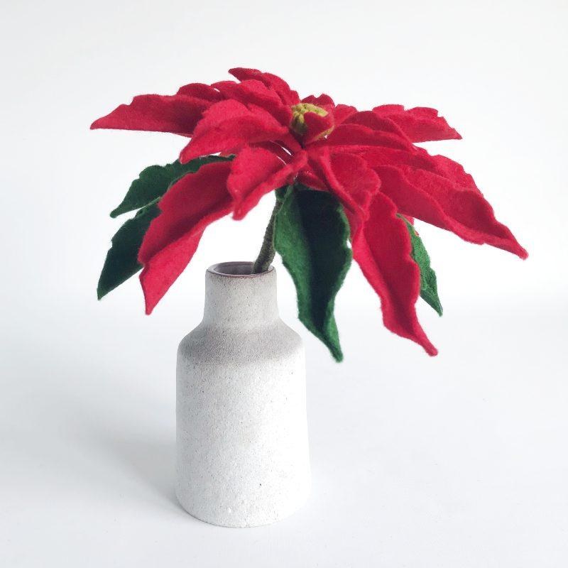 maak een kerstroos met de Viltbloemist Academy