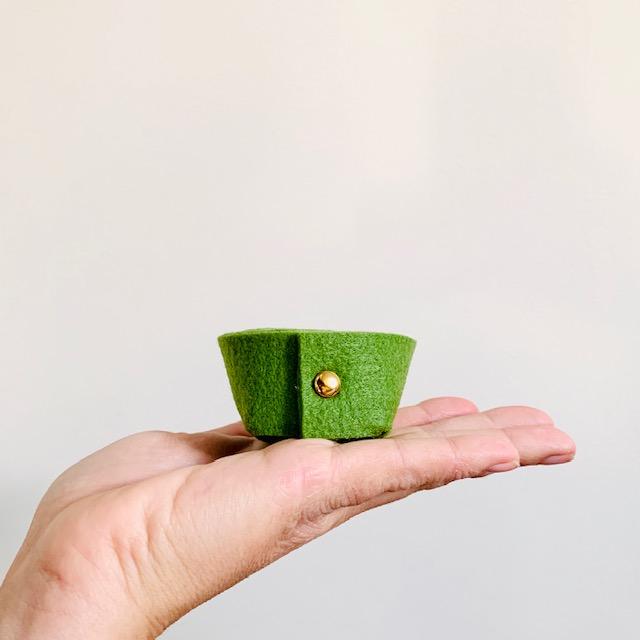 knus en kostbaar: dit stijlvolle mini-mandje is ideaal voor sleutels, juwelen en prulletjes