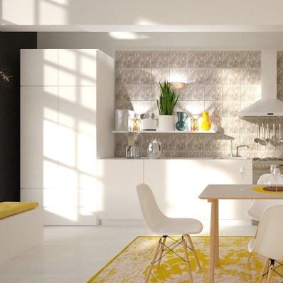 wit wonen met kleur: één extra kleur toepassen in huis geeft al een heerlijk frisse sfeer