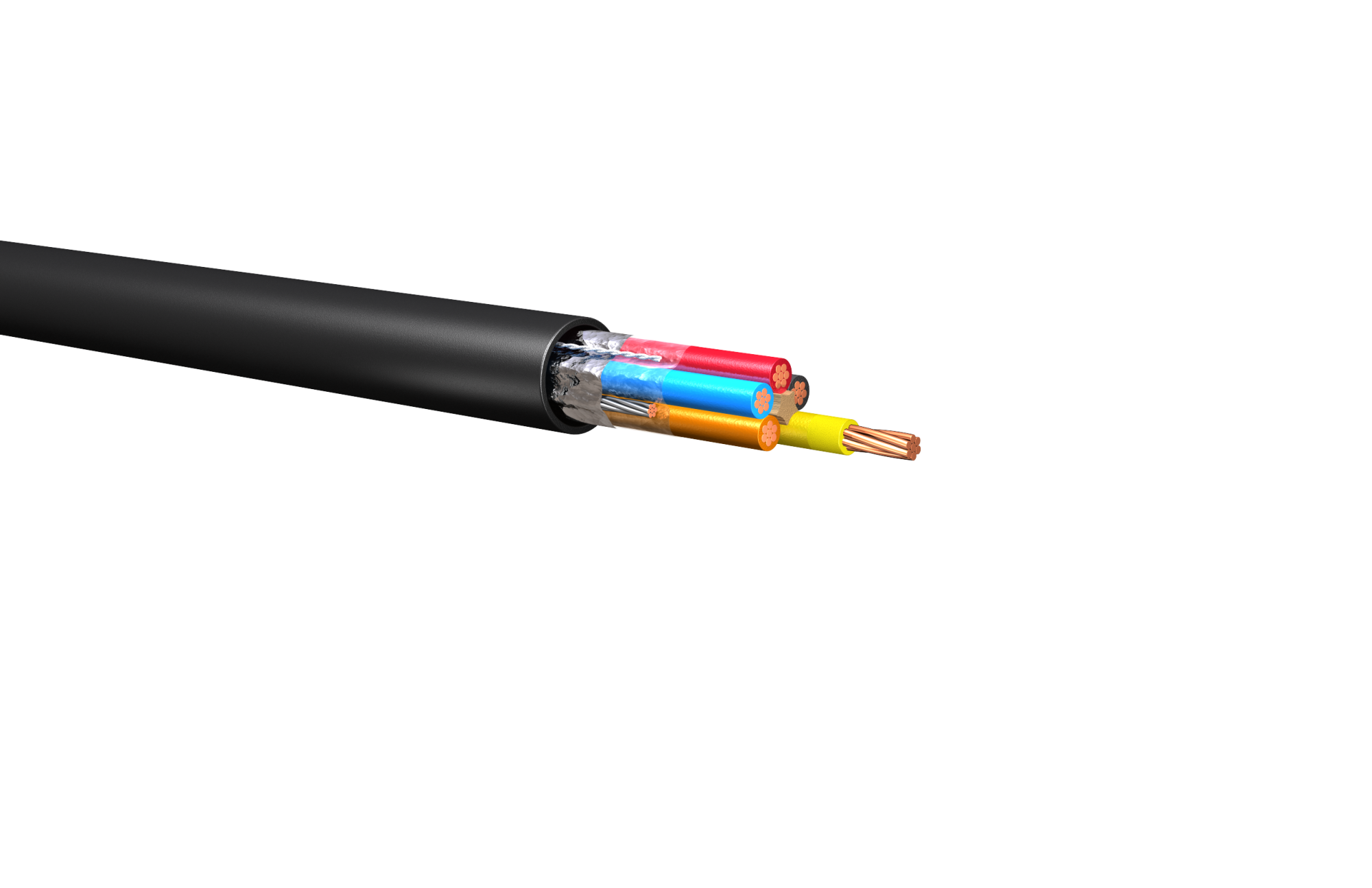 hight resolution of hw153 600v shielded control cable thhn or thwn 2 pvc nylon