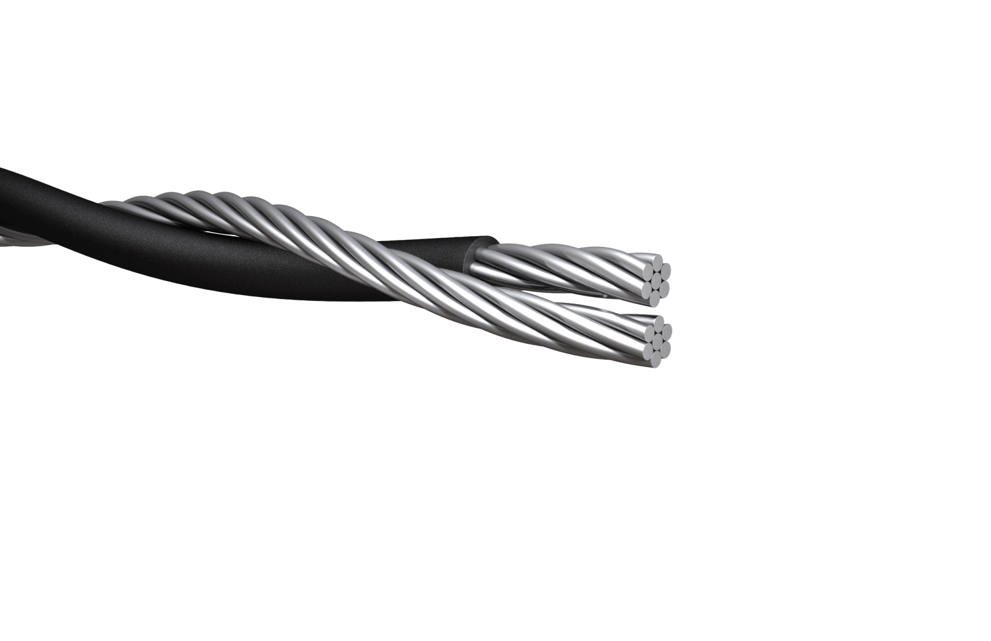 hight resolution of duplex service drop cable