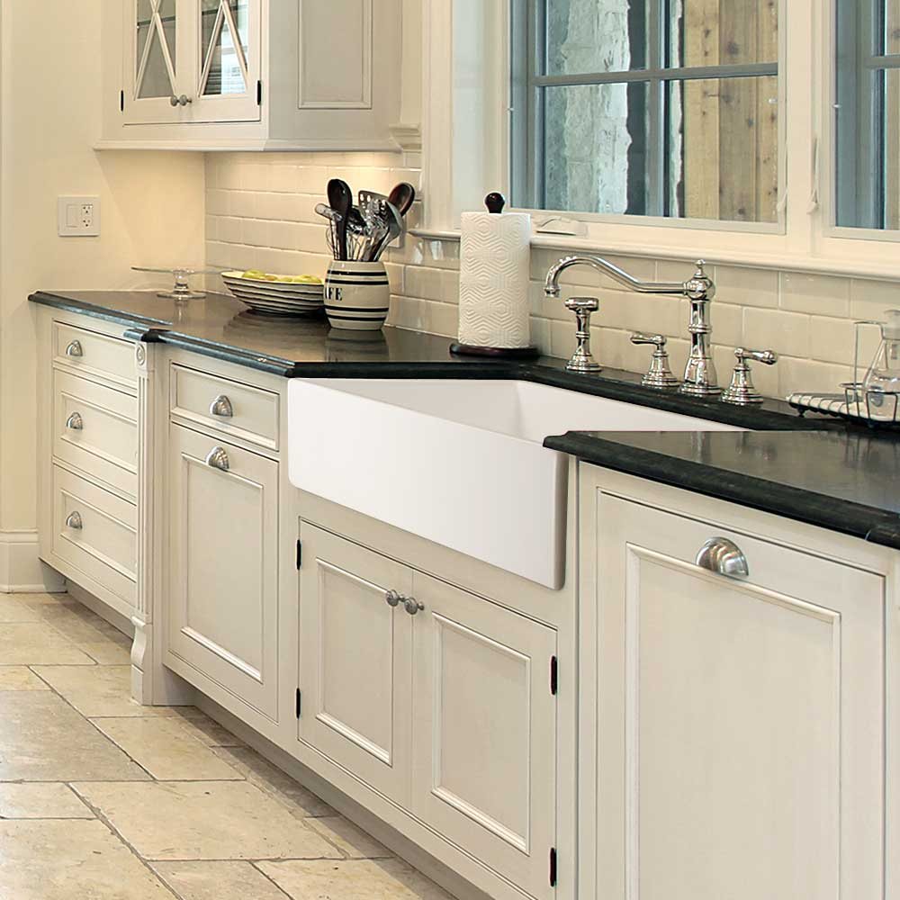 fireclay apron front or undermount