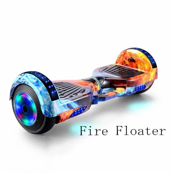 6.5 inch Smart Hoverboard Electric Balance Scooter fire floater