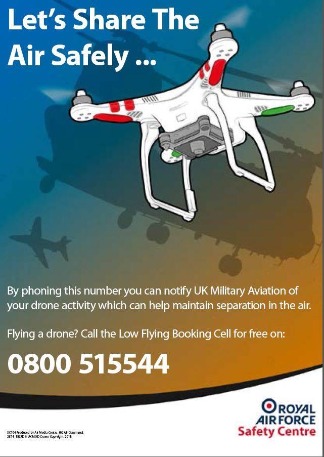 Numéro militaire gratuit RAF UK 0800 515544