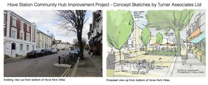 Hove Park Villas Concept Sketch by Turner Associates
