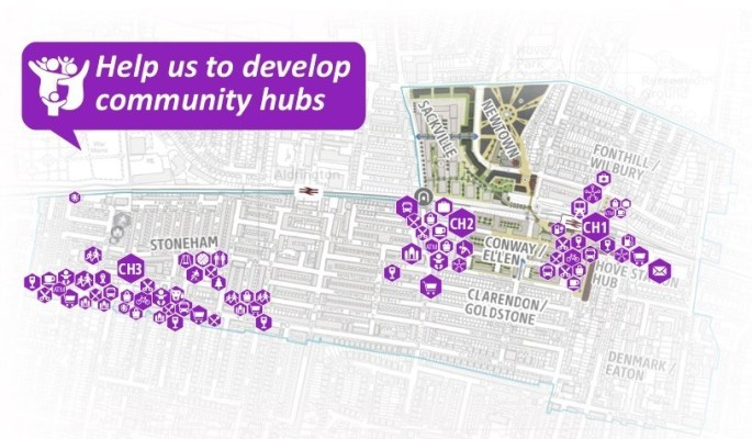 Help us to Develop Community Hubs in Hove