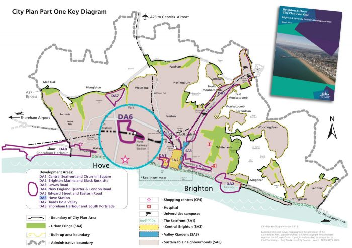Brighton City Plan Development Areas