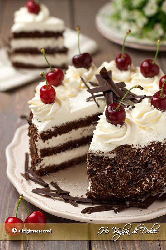 Torta foresta nera ricetta  Ho Voglia di Dolce