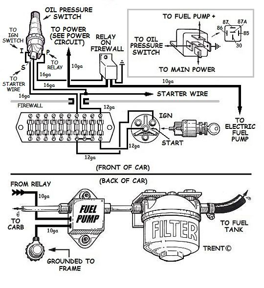 electric fuel pump wiring diagram wiring diagrams marine electric fuel pump wiring diagram nilza