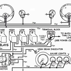 How To Wire A Hot Rod Diagram 1985 Corvette Radio Wiring Up Lights In Your Hotrod